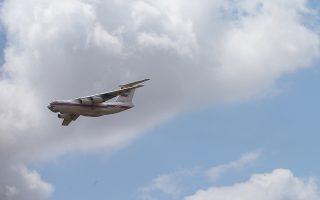 Ρωσικό μεταγωγικό πιστεύεται ότι μετέφερε τα μέρη των ρωσικών πυραύλων στη βάση Ακιντσιλάρ της Αγκυρας.