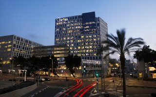 Η έδρα του ομίλου NSO στη Χερζλίγια του Ισραήλ. Η εταιρεία φέρεται να ανέπτυξε λογισμικό κατασκοπείας.