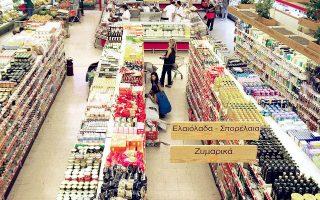 Το ευνοϊκό κλίμα στην αγορά επηρεάζει θετικά και τα σούπερ μάρκετ.