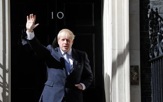 Ο Μπόρις Τζόνσον εκπλήρωσε το όνειρο της εισόδου στον αριθμό 10 της Ντάουνινγκ Στρητ ως πρωθυπουργός.