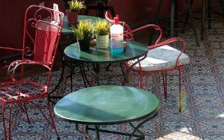 Η καφετέρια στο Περιστέρι όπου διεπράχθη το έγκλημα.