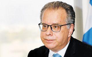 Ο αναπληρωτής υπουργός Προστασίας του Πολίτη, αρμόδιος για τη μεταναστευτική πολιτική, Γιώργος Κουμουτσάκος.