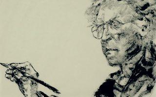 Μία από τις αυτοπροσωπογραφίες του Αρίκα στο Μουσείο Μπενάκη.