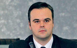 Ο Γρηγόρης σε συνέντευξη Τύπου, το 2009.