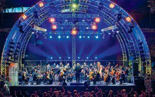 Η Athens Big Band μαζί με τη Συμφωνική Ορχήστρα Δήμου Αθηναίων στην Τεχνόπολη.