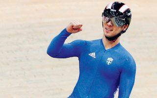 «Αυτά τα δύο μετάλλια μου δίνουν τεράστια ώθηση στην προσπάθεια που κάνω για τους Ολυμπιακούς Αγώνες του Τόκιο», δήλωσε ο κορυφαίος Ελληνας ποδηλάτης.