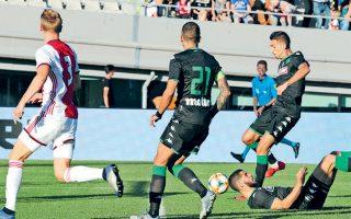 Ο Μακέντα ήταν ο απόλυτος πρωταγωνιστής του χθεσινού φιλικού, σημειώνοντας και τα δύο γκολ του Παναθηναϊκού στη νίκη επί του Αγιαξ με 2-1.
