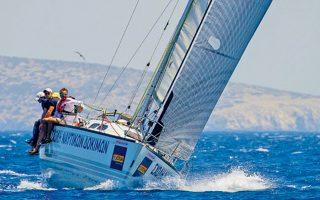 Το σκάφος της Σχολής Ναυτικών Δοκίμων «Pega» κατάφερε να πάρει την πρώτη θέση στην αγωνιστική κατηγορία του ιστορικού θεσμού.