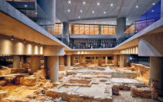Μια αρχαία γειτονιά της Αθήνας ενσωματώνεται στην αρχιτεκτονική του Μουσείου Ακρόπολης ως ένας ακόμα «όροφος» στη διάθεση του κοινού.