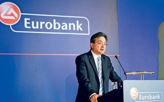 O διευθύνων σύμβουλος του ομίλου Φωκίων Καραβίας δήλωσε ότι η Eurobank είναι έτοιμη όχι μόνο να ανταποκριθεί στους σημερινούς ρυθμούς ανάπτυξης, αλλά και να προσφέρει χρηματοδότηση που θα στηρίζει την αύξηση του ΑΕΠ κατά 3% ή και υψηλότερα.