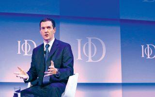 Από την ίδρυση του ΔΝΤ επικεφαλής αναλαμβάνει πάντα Ευρωπαίος, αλλά ποτέ έως τώρα Βρετανός, γεγονός που ενισχύει τη θέση του κ. Οσμπορν.