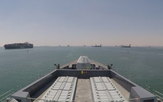 epa07745630 A handout picture provided by the British Ministry of Defence (MOD) showing the British Royal Navy Type 45 destroyer HMS Duncan arriving in the Persian Gulf on 28 July 2019. The British MOD state that HMS Duncan has arrived in the Gulf to protect British-flagged ships travelling through the Strait of Hormuz. The Type 45 Destroyer will work alongside HMS Montrose until she docks for routine maintenance in late August. British Defence Secretary Ben Wallace said: 'Freedom of navigation in the Strait of Hormuz is vital not just to Britain, but also our international partners and allies.'  EPA/BRITISH MINISTRY OF DEFENCE/HANDOUT MANDATORY CREDIT: MOD/CROWN COPYRIGHT HANDOUT EDITORIAL USE ONLY/NO SALES
