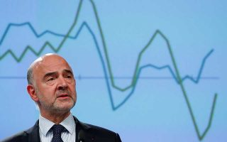 European Commissioner for Economic and Financial Affairs Pierre Moscovici presents the EU executive's economic forecasts during a news conference at the EU Commission headquarters in Brussels, Belgium, July 10, 2019. REUTERS/Francois Lenoir