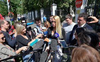 Μέλος της ιατρικής ομάδας του νοσοκομείου της Μόσχας, όπου νοσηλεύθηκε ο Ναβάλνι, μίλησε χθες σε δημοσιογράφους.