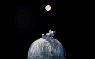 Εργο του Σπύρου Βερύκιου από την ομαδική εικαστική έκθεση «Man on the moon - Ο άνθρωπος στο φεγγάρι, 50 χρόνια μετά» στην The Project Gallery. Aπό τις 22/6 έως τις 21/9. Πλατεία Θεάτρου 14, Αθήνα.