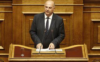 Ο βουλευτής Κώστας Τσιάρας μιλάει από το βήμα της Βουλής στη συζήτηση για τη πρόταση δυσπιστίας που κατέθεσε ο πρόεδρος της ΝΔ Κυριάκος Μητσοτάκης στην αίθουσα της ολομέλειας της Βουλής, Πέμπτη 14 Ιουνίου 2018. ΑΠΕ-ΜΠΕ/ΑΠΕ-ΜΠΕ/ΑΛΕΞΑΝΔΡΟΣ ΒΛΑΧΟΣ