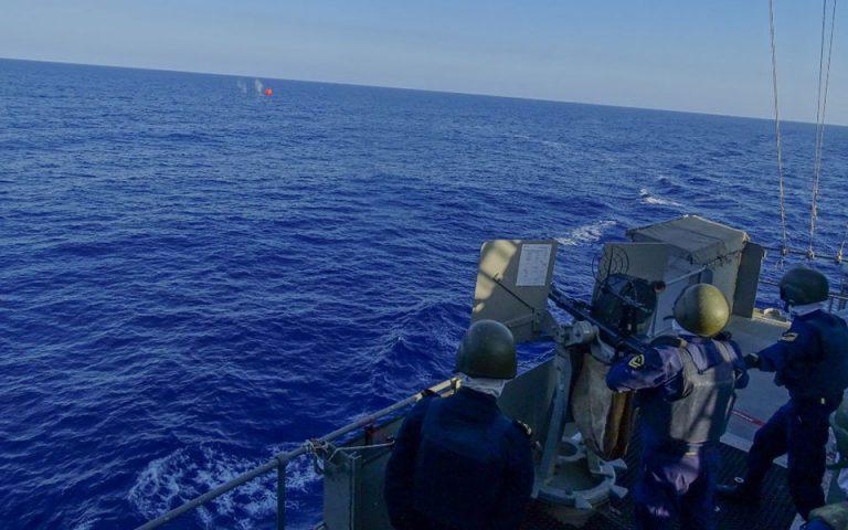 Κοινά ναυτικά γυμνάσια Ελλάδας, Ισραήλ, ΗΠΑ και Γαλλίας στη Νοτιοανατολική Μεσόγειο (φωτογραφίες)