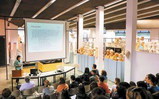 Το 1ο Διεθνές Θερινό Σχολείο Γλωσσολογίας με θέμα: «Σύγκριση γλωσσών και τυπολογία: η γερμανική και οι γλώσσες της Μεσογείου» θα πραγματοποιηθεί από το τμήμα Γερμανικής Γλώσσας και Φιλολογίας του ΑΠΘ με την οικονομική υποστήριξη του Ιδρύματος Alexander von Humboldt, σε συνεργασία με την ερευνητική ομάδα Research Unit on (Experimental) Syntax and Heritage Languages του Πανεπιστημίου Humboldt του Βερολίνου (Αρτεμις Αλεξιάδου).