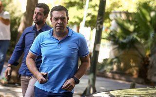 Κατά τη χθεσινή συνεδρίαση της Πολιτικής Γραμματείας του ΣΥΡΙΖΑ, ήταν εμφανής η πρόθεση του Αλέξη Τσίπρα να σταματήσει η εσωστρέφεια και να βγει «προς τα έξω» η εικόνα συντεταγμένου κόμματος που εστιάζει στην ανασυγκρότησή του και στα αντιπολιτευτικά του καθήκοντα.
