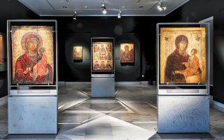 Σπάνιες βυζαντινές εικόνες της εποχής των Παλαιολόγων, που εικονογραφούν κυρίως την Παναγία, παρουσιάζει το Βυζαντινό και Χριστιανικό Μουσείο στην έκθεση «Το ημέτερον κάλλος». Οι εικόνες ταξίδεψαν από την Ιερά Μονή Βλατάδων και από μητροπόλεις της Βορείου Ελλάδος.