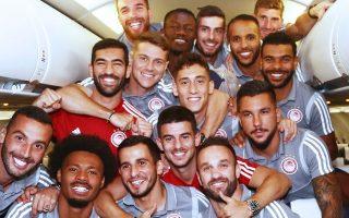 Ο Ολυμπιακός επέστρεψε με πλατιά χαμόγελα και σήμερα περιμένει τα νέα της κληρωτίδας.