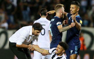 Ο ΠΑΟΚ υπέστη έναν οδυνηρό αποκλεισμό από τις ευρωπαϊκές διοργανώσεις. Και στα δύο ματς με τη Σλόβαν έδειξε ότι η σκέψη του είχε μείνει στις αναμετρήσεις με τον Αγιαξ.