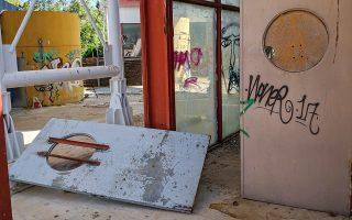 Εικόνα εγκατάλειψης του Μητροπολιτικού Πάρκου «Αντώνης Τρίτσης».