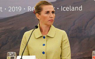 Η πρωθυπουργός της Δανίας Μέτε Φρέντρικσεν είχε χαρακτηρίσει «παράλογη» την πρόταση αγοράς της Γροιλανδίας από τις ΗΠΑ.