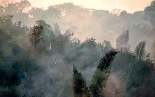 Ασύλληπτη η οικολογική καταστροφή που συντελείται από τις πυρκαγιές που κατακαίουν το τροπικό δάσος του Αμαζονίου, τη στιγμή που ο πρόεδρος της Βραζιλίας Zαΐρ Μπολσονάρο δήλωσε ότι δεν διαθέτει τα μέσα για να συμβάλει στην πυρόσβεση.