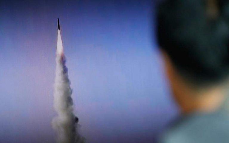 Βόρεια Κορέα: Νέες εκτοξεύσεις βλημάτων αγνώστου τύπου από την Πιόνγκγιανγκ