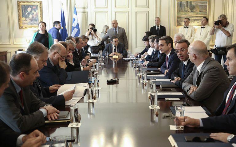 Νέα ηγεσία Δικαιοσύνης και αναπτυξιακό νομοσχέδιο επί τάπητος στο υπουργικό συμβούλιο