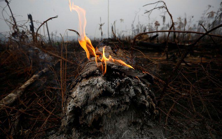 Βραζιλία: Εκατοντάδες νέες φωτιές στη ζούγκλα του Αμαζονίου – Κορυφώνεται η παγκόσμια αγωνία