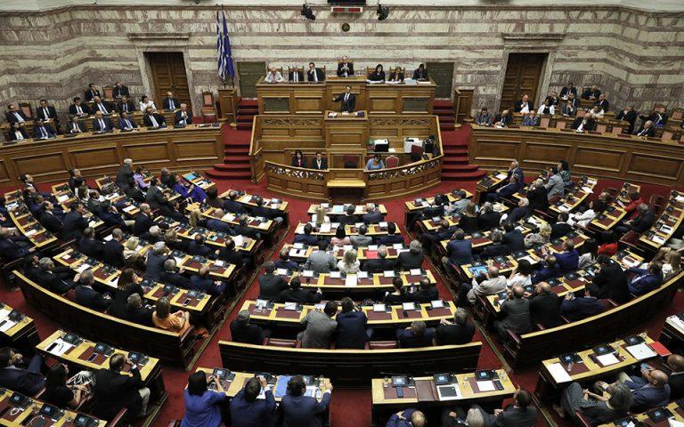 Το πολυνομοσχέδιο θα δοκιμάσει το κλίμα στη Βουλή