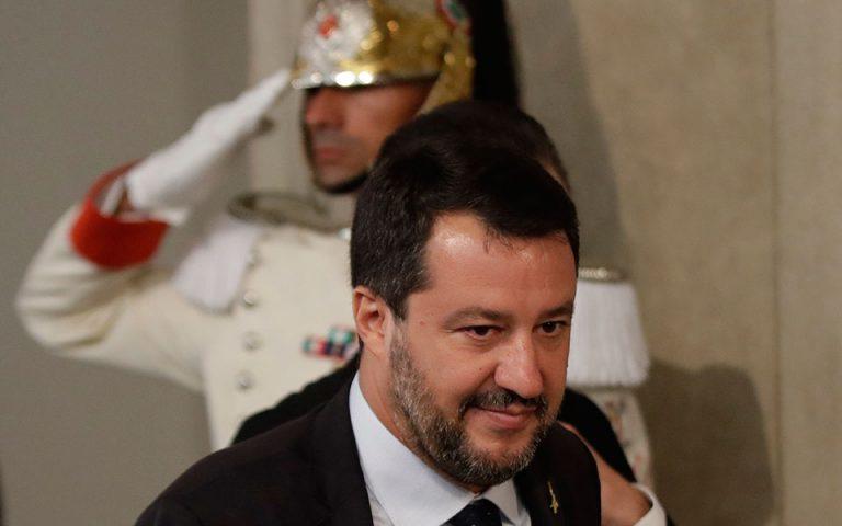 Ιταλία: Πρωτιά με μειωμένα ποσοστά για τη Λέγκα στις δημοσκοπήσεις