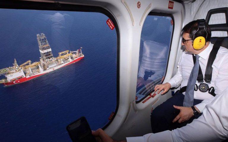 «Γιαβούζ και Φατίχ συνεχίζουν τις επιχειρήσεις τους» λέει ο Τούρκος υπουργός Ενέργειας (φωτογραφίες)