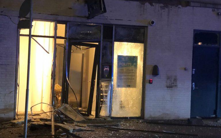 Δανία: Έκρηξη κοντά σε αστυνομικό τμήμα στην Κοπεγχάγη (φωτογραφίες)