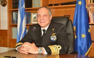 O σύμβουλος Εθνικής Ασφάλειας του πρωθυπουργού, αντιναύαρχος ε.α. Αλέξανδρος Διακόπουλος.