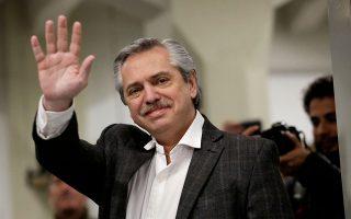 Σε δηλώσεις του ο Αλμπέρτο Φερνάντες, που είναι το φαβορί των εκλογών του Οκτωβρίου, υποστήριξε ότι το ΔΝΤ και η κυβέρνηση προκάλεσαν την κρίση και είναι συνεπώς υπεύθυνοι γι' αυτήν την «κοινωνική καταστροφή», που έχει κάνει ένα μεγάλο ποσοστό της κοινωνίας να υποφέρει.