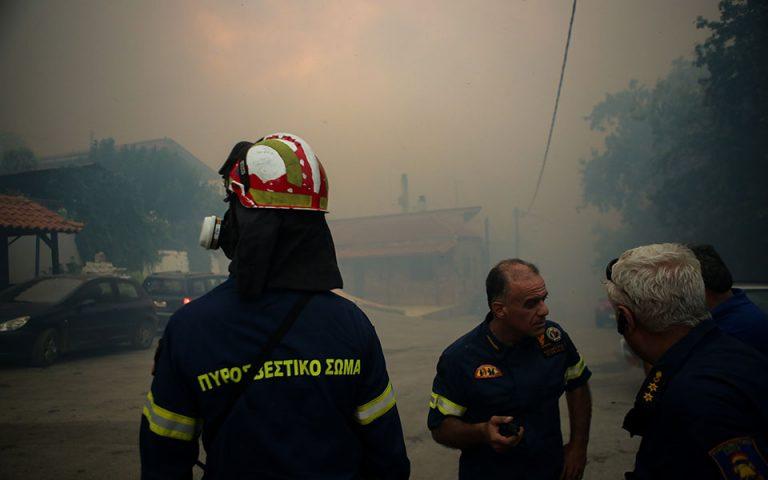 Meteo: Το χειρότερο σενάριο για τη μεγάλη πυρκαγιά στην Εύβοια (βίντεο)
