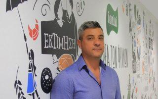 Ο διευθύνων σύμβουλος της Ioniki, Γιώργος Πορτοκαλίδης.