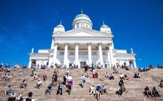 Τα σκαλιά μπροστά από τον  καθεδρικό ναό αποτελούν σημείο συνάντησης για τις περιηγήσεις στην πόλη.  (Φωτογραφία: Getty Images/Ideal Image)