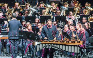 Από τη Φιλαρμονική Εταιρεία της Κέρκυρας ο κρουστός Νίκος Μεταλληνός θα συμπράξει με τον αρχιμουσικό Θεόδωρο Κουρεντζή. Το νησί έχει 18 φιλαρμονικές ορχήστρες που προσελκύουν πλήθος επισκεπτών.