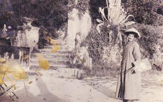 Η ζωγράφος Μαρία Ιγγλέση στην Ιταλία, στις αρχές του 20ού αιώνα.
