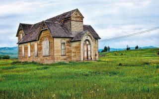 Εκκλησία Μορμόνων στο Αϊντάχο, στην περιοχή όπου μεγάλωσε η συγγραφέας της αυτοβιογραφικής «Μορφωμένης».