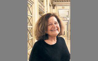 Η επίτιμη καθηγήτρια της Σορβόννης, ιστορικός τέχνης και επιμελήτρια Αν-Μαρί Ντιγκέ.