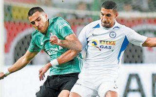 Αψογα στημένη, η ελληνική ομάδα απέσπασε το 0-0 από  τη Λέγκια.