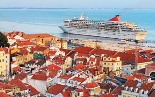 Η αύξηση του τουρισμού στη Λισσαβώνα κατά 81% τα τελευταία πέντε χρόνια οφείλεται εν μέρει στο νέο λιμάνι.