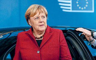 Η Αγκελα Μέρκελ παραδέχθηκε ότι «οδεύουμε προς μια δύσκολη φάση», προσθέτοντας πως η κυβέρνηση θα παρακολουθήσει προσεκτικά την εξέλιξη της οικονομίας και το γ΄ τρίμηνο και «θα αντιδράσουμε ανάλογα με την κατάσταση».