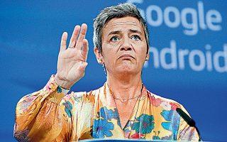Εταιρείες του κλάδου ζητούν με επιστολή τους προς την απερχόμενη επίτροπο Ανταγωνισμού, Μαργκρέτε Βεστάγκερ, να διερευνήσει τις πρακτικές της Google.