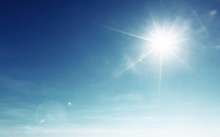 Υψηλές θερμοκρασίες σήμερα – Αναλυτικά η πρόγνωση του καιρού